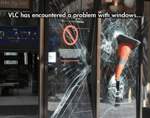 srsfunny:System Error: VLC has encounfered a problem with WindowS...  THE srsfunny:System Error