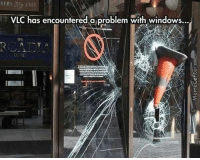Dammit, VLC!: VLC has encountered a problem with windows... Dammit, VLC!