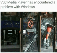 vlc: VLC Media Player has encountered a  problem with Windows