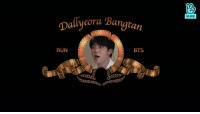 Run, Bts, and  January: VLIVE  Dallyeora Bangtarn  RUN  BTS run bts returns january 1st 2019