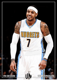 Should Carmelo Anthony go back to the Denver Nuggets, if he decides to leave the New York Knicks?  #VNdesign: VN DESIGN  VUGGERS Should Carmelo Anthony go back to the Denver Nuggets, if he decides to leave the New York Knicks?  #VNdesign