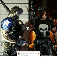 Memes, Marvel, and Punisher: VO  therealmaxnieder The Comedian vs  The Punisher  18h 6 likes Reply  eoupeRHeROAlliance TOURNAMENT 28!!! ROUND 1!!! WHO WINS??? 👊👊👊👊 TheComedian vs Punisher Tournament28 Round1 EpicBattle DC Marvel SuperHeroAlliance