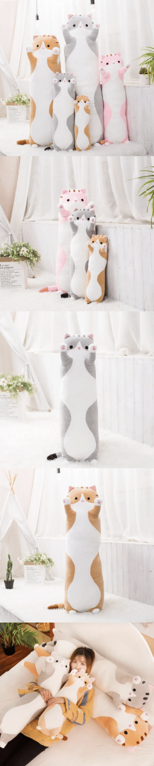 vodkassassin:  xer0phicstuffz: sheet-ghost-posts:  xspiderfanx:  saltycaffeine:  This ultra comfy and Soft Snuggle Kitty Plush pillow is it the perfect snuggle companion! This will make a great and lovely gift for your Friends and Family! Watch as they jump with joy after receiving one of these! => GET YOURS HERE <=    I WANT A THOUSAND OF THEM  I want one too what the frick    I NEED ALL THEM    OH MY GOD ITS L O N G C A T AAAAAAAAA: vodkassassin:  xer0phicstuffz: sheet-ghost-posts:  xspiderfanx:  saltycaffeine:  This ultra comfy and Soft Snuggle Kitty Plush pillow is it the perfect snuggle companion! This will make a great and lovely gift for your Friends and Family! Watch as they jump with joy after receiving one of these! => GET YOURS HERE <=    I WANT A THOUSAND OF THEM  I want one too what the frick    I NEED ALL THEM    OH MY GOD ITS L O N G C A T AAAAAAAAA
