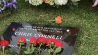VOICE  AND ANARTIST GENERATION  CHRIS CORNELL  A 6.  BELOVED HI19 http://babblecase.com/2ERj Chris Cronell Rest  Peace :( this made me so sad