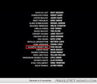 "<p>Order of the Phoenix credits <a href=""http://ift.tt/1gFuuNA"">http://ift.tt/1gFuuNA</a></p>: VOICE OF LIFT  DAISY HAGGARD  CORNELIUS FUDGE ROBERT HARDY  LUCIUS MALFOY JASON ISAACS  PERCY WEASLEY CHRIS RANKIN  ALBUS DUMBLEDORE MICHAEL GAMBON  DOLORES UMBRIDGE IMELDA STAUNTON  AMELIA BONESSIAN THOMAS  DRACO MALFOY TOM FELTON  VINCENT CRABBE JAMIE WAYLETT  CREGORY COYLE JOSH HERDMAN  CHO CHANG  NEVILLE LONGBOTTOM  UNA LOVECOOD  SLIGHTLY CREEPY BOY  ARCUS FILCH  SEAMUS FINNIGAN  NIGEL 2ND YEAR  PROFESSOR CRUBBLY-PLANK  SEVERUS SNAPE  SYBIL TRELAWNEY  DEAN THOMAS  KATIE LEUNG  MATTHEW LEWIS  EVANNA LYNCH  RYAN NELSON  DAVID BRADLEY  DEVON MURRAY  WILLIAM MELLING  APPLE BROOK  ALAN RICKMAN  EMMA THOMPSON  ALFRED ENOCH  Banned in 0 countries  MUGGLENETMEMES.COM <p>Order of the Phoenix credits <a href=""http://ift.tt/1gFuuNA"">http://ift.tt/1gFuuNA</a></p>"