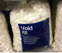 Alcohol, Time, and Been: Void  fill  ent cushioning  rote  hygienic & reusable  Inght, Suitable for Compo I had no idea you could buy this, I've been just using alcohol all this time https://t.co/Cf7AQBSkHW