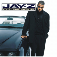 "Jay, Jay Z, and Life: VOL.2... HARD KNOCK LFE  0 20 years ago today, Jay-Z released ""Vol. 2… Hard Knock Life"" featuring the tracks ""Can I Get A..."", ""Money, Cash, H*es"", and ""Hard Knock Life"". 🔥🎶 @S_C_ https://t.co/JcBxtpPfNK"
