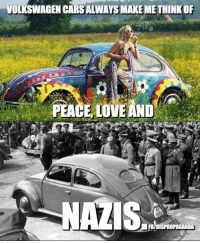 Volkswagen Cars Always Make Methinkof Peace Love And Happy Birthday