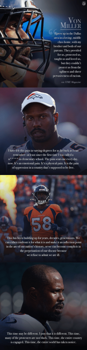 .@VonMiller wrote a powerful essay on racism in TIME magazine.  Full article: https://t.co/fF3HDqR0yb https://t.co/EejZzN3cyg: .@VonMiller wrote a powerful essay on racism in TIME magazine.  Full article: https://t.co/fF3HDqR0yb https://t.co/EejZzN3cyg