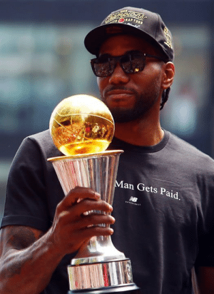 Kawhi Leonard is the first player in NBA history to join a new team right after winning Finals MVP: VORAP TORS  Man Gets Paid Kawhi Leonard is the first player in NBA history to join a new team right after winning Finals MVP