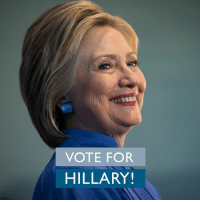 Election Day is today! Confirm your polling place and get out and vote! www.hillaryclinton.com/locate: VOTE FOR  HILLARY! Election Day is today! Confirm your polling place and get out and vote! www.hillaryclinton.com/locate