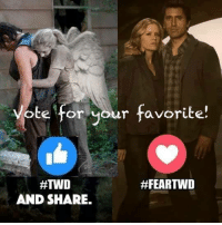 Memes, Vans, and Tough: vote for your favorite!  #FEARTWD  AND SHARE. #TheWalkingDead fans, having a real tough time getting you guys to actually RESPOND. I can barely even get 1% of you to. I wish YOU would VOTE today. :) (y)  Photo credit: Elliot Van Orman Productions