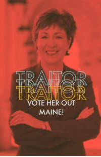Maine, Her, and Vote: VOTE HER OUT  MAINE!
