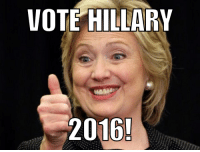 A change of heart...: VOTE HILLARY  2016! A change of heart...