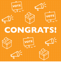 Last night, all of our endorsed pro-choice Democratic women running for the U.S. House and Senate won their primary elections! Congrats to Elaine Luria, Abigail Spanberger, Susie Lee, and Jacky Rosen on their incredible wins!: VOTE  VOTE  CONGRATS!  VOTE Last night, all of our endorsed pro-choice Democratic women running for the U.S. House and Senate won their primary elections! Congrats to Elaine Luria, Abigail Spanberger, Susie Lee, and Jacky Rosen on their incredible wins!