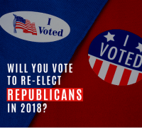 Check your voter registration here → https://nrcc.news/2QMyFAn: Voted  VOTED  WILL YOU VOTE  TO RE-ELECT  REPUBLICANS  IN 2018? Check your voter registration here → https://nrcc.news/2QMyFAn