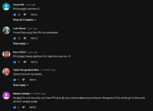 """Life Imitates Art, Truth is Stranger than Fiction: Obscure song gets used for """"The Greatest PMV Ever"""" on PornHub, now Youtube comments reflect its surge in popularity. Vitor Munhoz; William Henry - Do Not Think (Original Mix): Vovan148 1 year ago  PH brought me here :D  54  REPLY  View all 3 replies  Leah Meow 1 year ago  Found this song thru PH not ashamed  REPLY  33  View reply  Emre OĞUZ 1 year ago  PH is best music platform for me from now on <3  17 REPLY  Taylor tha greatest Mon 11 months ago  Came from ph my dudes  REPLY  View reply  Master Debater 9 months ago  So glad I'm not the only one from PH aha, By any chance does anyone know the game of the white girl in the yank  shorts? simply lovely  5  REPLY Life Imitates Art, Truth is Stranger than Fiction: Obscure song gets used for """"The Greatest PMV Ever"""" on PornHub, now Youtube comments reflect its surge in popularity. Vitor Munhoz; William Henry - Do Not Think (Original Mix)"""