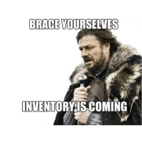 I hate inventory. So mundane and tedious. 😴 pharmacy pharmacymemes meme braceyourselves pharmacist pharmacytech work pharmlife pharmacyrage inventory: BRACE YOURSELVES  INVENTORY IS COMING I hate inventory. So mundane and tedious. 😴 pharmacy pharmacymemes meme braceyourselves pharmacist pharmacytech work pharmlife pharmacyrage inventory
