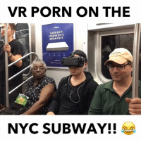 Memes, Subway, and Link: VR PORN ON THE  SLEEP ON IT  LOUNGE ON IT  DREAM ON IT  ORIX  NYC SUBWAY!! Watching VR Porn on the NYC subway 🚞🚞🚞🚞😂😂🎥@clop3z @eat_it - Follow me @qpark for more! (FULL VIDEO LINK IN BIO)