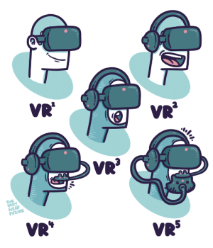 Future, Omg, and Tumblr: VR'  VR  VERY  NEAR  FUTURE  VR  VRS omg-images:  Sensory Overload