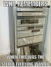True, Wanted, and Stereo: VWHO REMEMBERS  WHEN THIS WAS THE  STEREO EVERYONE WANTED So true 😂💯 https://t.co/4KdIj014M2