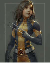 Memes, 🤖, and Art: w a r t s t a t o n c o m art s t a a  e a #DafneKeen #Laura #X23 wearing the #Wolverine costume!   James Mongold wants to make a movie about her in a near future. She was just perfect as X-23 😍  Art by @Fajarekas  {Superman52}