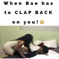 Memes, Usher, and Awkward: W h e n B a e h a s  t o C L A P B A C K  on you! When Bae has to CLAP BACK on you!😳LoL TAG someone if you've seen this B4! Idea by @jetdope couple relationship annoyed awkward sexy clapback e40 usher juhahnjones