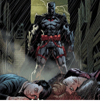 "Alive, Batman, and Chill: w,p Happy FathersDay Gothamites! Today it is fitting to discuss father figures within the Batman mythology, the first being Thomas Wayne (cover panel to Batman (Vol 3) 22 by Jason Fabok)! Created by Bob Kane and Bill Finger and first appearing in Detective Comics (Vol 1) 33 from 1939, Thomas Wayne was a successful surgeon and respected patron of Gotham City, keeping alive the Wayne family name with the ownership of Wayne Manor and head of Wayne Enterprises. Married to socialite and philanthropist Martha Wayne, they had a son, Bruce, and at his young age, he faced Thomas and Martha's untimely death at the gun of mugger Joe Chill. Although established 78 years ago that his death would spawn the shadowy vigilante of Gotham City, the character of Thomas Wayne represented more than just that sole purpose. Thomas Wayne is shown as an influence past his tragic death in Finger's Detective Comics (Vol 1) 235 from September 1956 in ""The First Batman"" (panel 2) when Thomas' 'Bat-Man' costume inspires Bruce to track down Lew Moxon, the man who hired Joe Chill to kill his parents. As this classic tale was retold in Len Wein and Jim Aparo's ""The Untold Legend of the Batman"" from 1980 (panel 3), more modern stories told of Thomas as a brilliant surgeon aiding crime master Carmine Falcon in Jeph Loeb and Tim Sale's 13 arc epic ""Batman: The Long Halloween"" from 1997 (panel 4) and as a guide to Bruce in spirit. Thomas' most thrilling role has been as the Batman, established in Geoff Johns and Andy Kubert 2011 arc ""Flashpoint"" and Brian Azzarello and Eduardo Risso's 3 issue side storyline ""Batman: Knight of Vengeance"" (panel 5). In this alternate timeline, Bruce is murdered in front of Thomas and Martha Wayne, driving Thomas into the lethal and vengeful Batman and Martha going insane and taking up the persona of The Joker. As a large part of New 52's Convergence arc (panel 6 by Ethan Van Sciver, Earth 2 (Vol 1) 17) and bringing words of wisdom to his son Bruce as Batman in DC Rebirth (panel 7 variant cover by Tim Sale, panel 8 and 9 from Batman (Vol 3) 22), Thomas Wayne proves to still be an important part of Batman's amazing history. ✌🏼💙🦇"