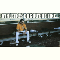 Athletics dugout be like...: ATHLETICSDUGOUT BE LIKE  L NETSUITE  NET  SUITE  NETSUITE Athletics dugout be like...