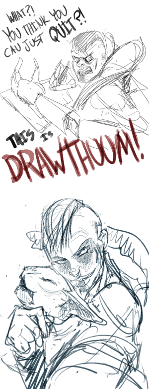 Love, Tumblr, and Blog: WAAT?!  You THENK YOU  CAU JUST QUITS!  THES  DRIMTHOUM! shadradraws:  guys I love Kela de Thaym