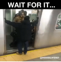 Ass, Memes, and Work: WAIT FOR IT...  @HOODLIFE007 When u late for work and some ass hole holding up the train