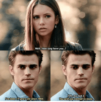 — comment a '❤️' if you ship Stelena and a '💙' if you ship Delena!: Wait, How long have you...?  [Oh, my God.]  You said you wanted to know  ive been 17 years old since 1864 — comment a '❤️' if you ship Stelena and a '💙' if you ship Delena!