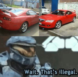 Cars, What, and Wait: Wait. That's illegal What the...