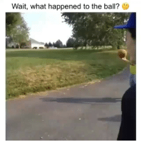 Memes, Mystery, and 🤖: Wait, what happened to the ball? G Dm to a friend who can solve this mystery 🧐
