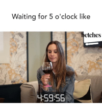 "Click, Book, and Book It: Waiting for 5 o'clock like  etches  4:59.56 We wrote a new book called ""When's Happy Hour?"" It's not like a regular career book, it's a cool career book. Click the link in bio to pre-order it now or accept hating your job forever"