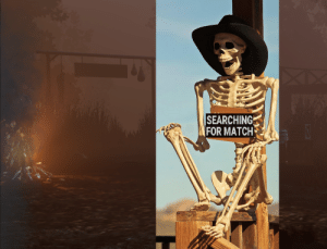 Waiting for a match as killer on the PTB like: Waiting for a match as killer on the PTB like