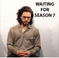 6 days until Game of Thrones season 7! gameofthrones thronesmemes kitharington jonsnow got hbo asoiaf gameofthronesfamily gameofthronesfan gameofthroneshbo: WAITING  FOR  SEASON 7  ThronesMemes 6 days until Game of Thrones season 7! gameofthrones thronesmemes kitharington jonsnow got hbo asoiaf gameofthronesfamily gameofthronesfan gameofthroneshbo