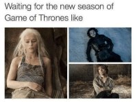 Game of Thrones: Waiting for the new season of  Game of Thrones like