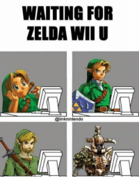 2 years and still going  -LeSquaglemeir: WAITING FOR  ZELDA WII U  @linknintendo 2 years and still going  -LeSquaglemeir