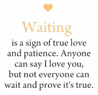 Love And Patience