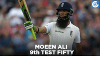 Memes, 🤖, and Eng: waitrose  E  MOEEN ALI  9th TEST FIFTY IND vs ENG, 4th Test, DAY-1: ENG - 230/2 (70) | Moeen Ali - 50* (102)