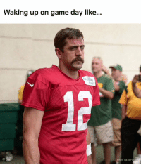 Memes, Game, and Heat: Waking up on game day like.  oelin  heat  Photo via@Pa GAMEDAY! #Kickoff2017 https://t.co/71S7Alv9WC