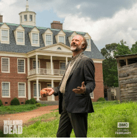 Dank, Happy Birthday, and Walking Dead: WALKING  DEAD  aMC  RETURNS  FEBRUARY Happy Birthday Xander Berkeley!