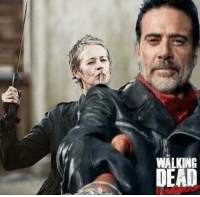 Carol coming to save the day?  Wonder what she'll do when she realizes the Saviors have Daryl.  Oh oh oh, what if they take him on a run to The Kingdom and she sees him with them?!?!?: WALKING  DEAD Carol coming to save the day?  Wonder what she'll do when she realizes the Saviors have Daryl.  Oh oh oh, what if they take him on a run to The Kingdom and she sees him with them?!?!?