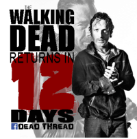 The Walking Dead Season 7 continues Feb. 12! Join in the countdown :) Dead Thread: WALKING  DEAD  DEAD THREAD The Walking Dead Season 7 continues Feb. 12! Join in the countdown :) Dead Thread