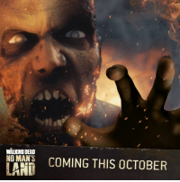 Dank, The Walking Dead, and Walking Dead: WALKING DEAD  NO MAN'S  LAND  COMING THIS OCTOBER Are you ready to face off and fight the walker herd?  Get The Walking Dead: No Man's Land this October. #TWDNoMansLand