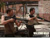 Dank, Journey, and Heart: WALKING DEAD  RETURNS OCT23 SUNDAYS 9/86  aMC Daryl's a badass with a heart of gold – see how far he's come in the Journey So Far special, airing October 16.    Then, watch the #TWD Season 7 Premiere on October 23 to see if Daryl survives.