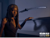 Dank, Good, and Http: WALKING DEAD  RETURNS OCTOBER 11  aMC  SUNDAYS 918C Is Michonne done with her katana for good?   It's the last day to watch Season 5 on AMC.com: http://bit.ly/1foiTIn