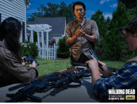 Dank, Http, and Walking Dead: WALKING DEAD  RETURNS OCTOBER 11  SUNDAYS 918C  aMC The threat is coming from all sides – three weeks until the Season 6 premiere. http://bit.ly/1OzsCrv