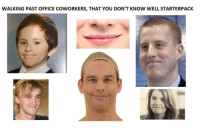 Office, Coworkers, and Irl: WALKING PAST OFFICE COWORKERS, THAT YOU DON'T KNOW WELL STARTERPACK  shutterstsc Me irl